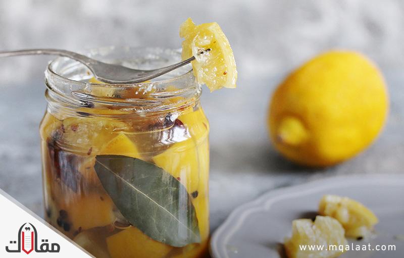 فوائد الليمون المخلل