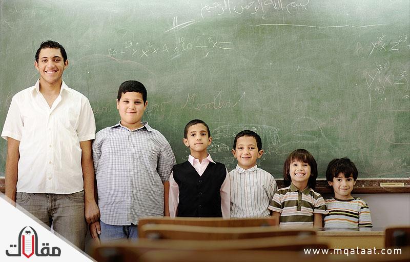 نظرة على قضايا التعليم