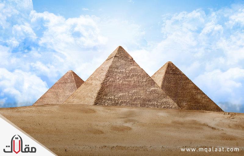 الاهرامات من عجائب الدنيا السبع
