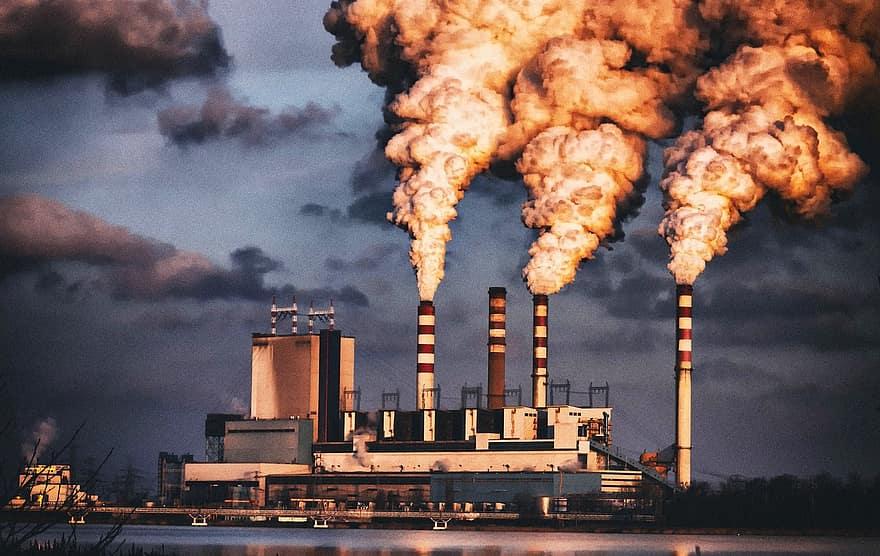 حلول تلوث البيئة