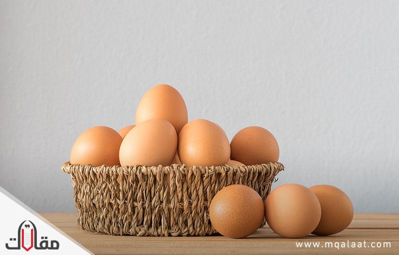 كم مدة سلق البيض