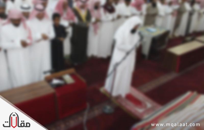 طريقة الصلاة على الميت