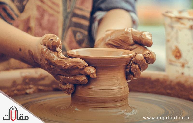 صناعة الفخار في السعودية