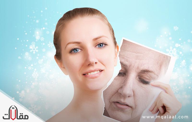 علاج تجاعيد الوجه بالاعشاب