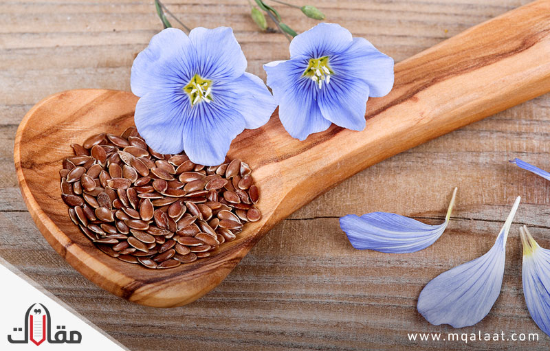 فوائد بذر الكتان للشعر
