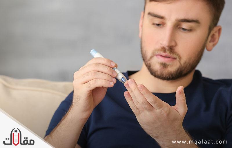 اعراض مرض السكر عند الرجال