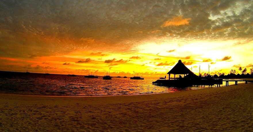 السفر الى جزر المالديف