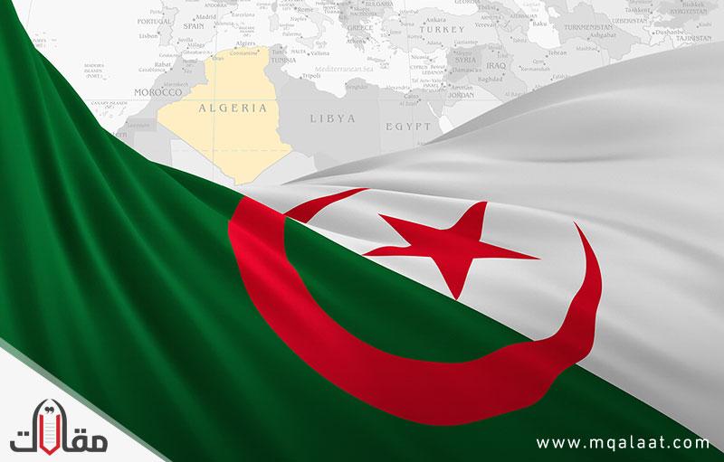مساحة الجزائر