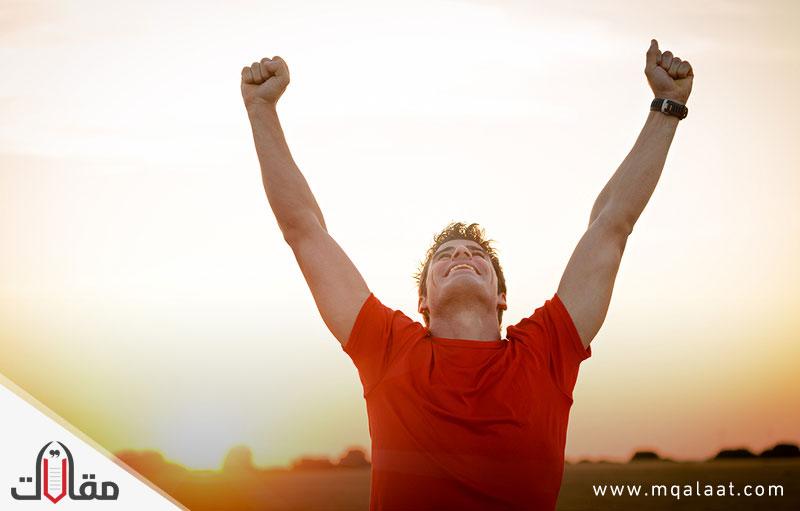 وسائل النجاح في الحياة التفاؤل