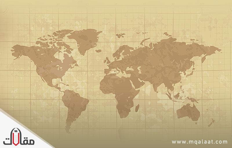 عدد قارات العالم واسمائها