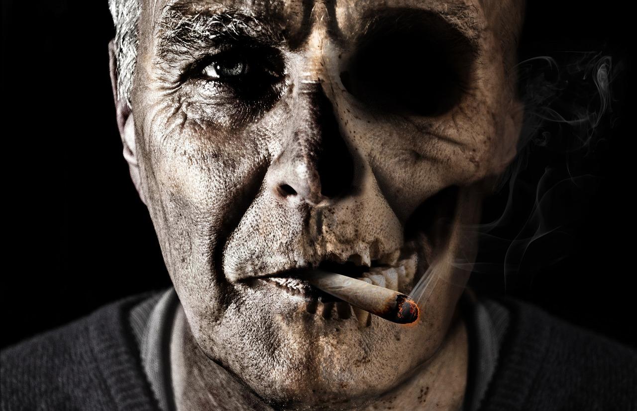 اثار التدخين على الجسم