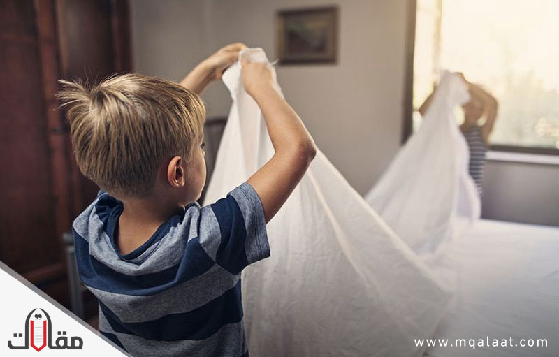 اجعل طفلك يتحمل المسؤولية