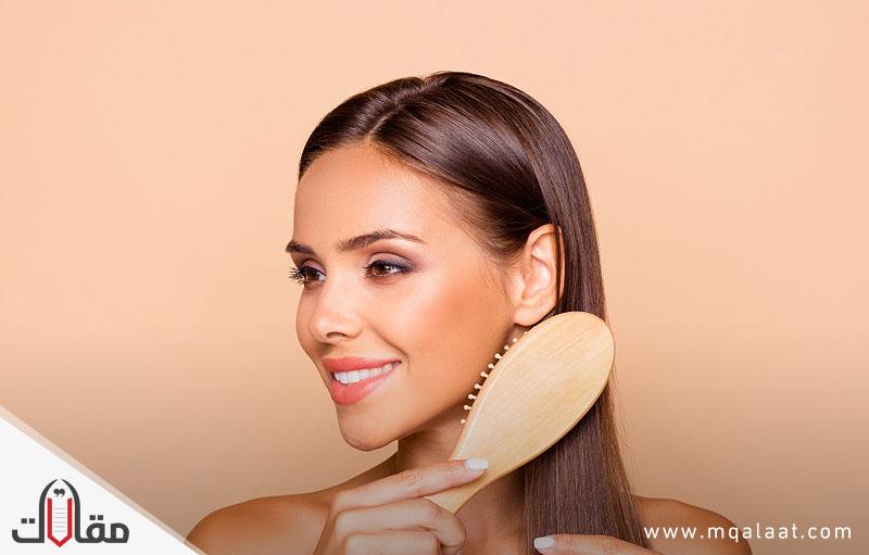 علاج قشرة الشعر الجاف