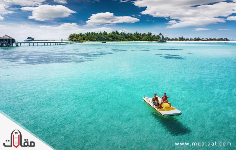 اين توجد جزر المالديف