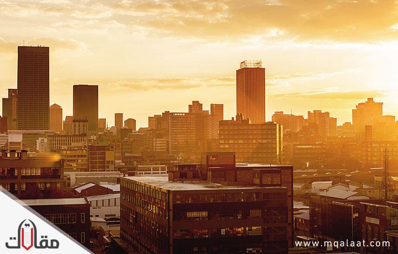 اكبر مدن جنوب افريقيا