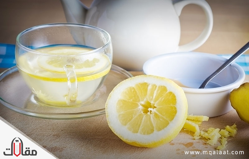 فوائد الليمون المغلي