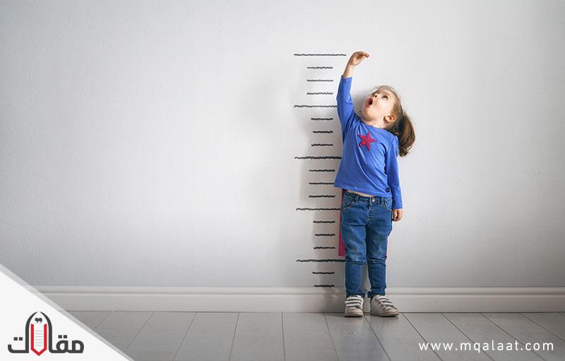 بحث عن مراحل نمو الطفل