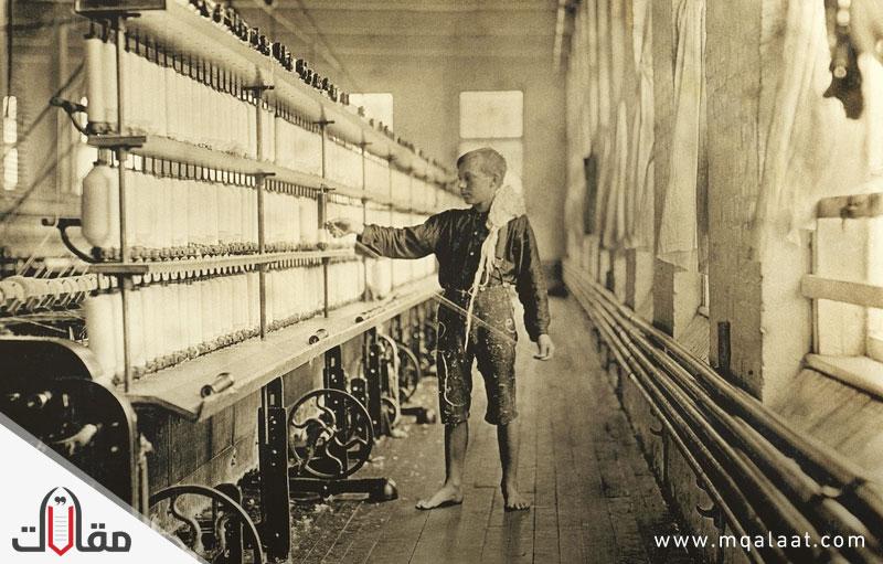 الثورة الصناعية في انجلترا