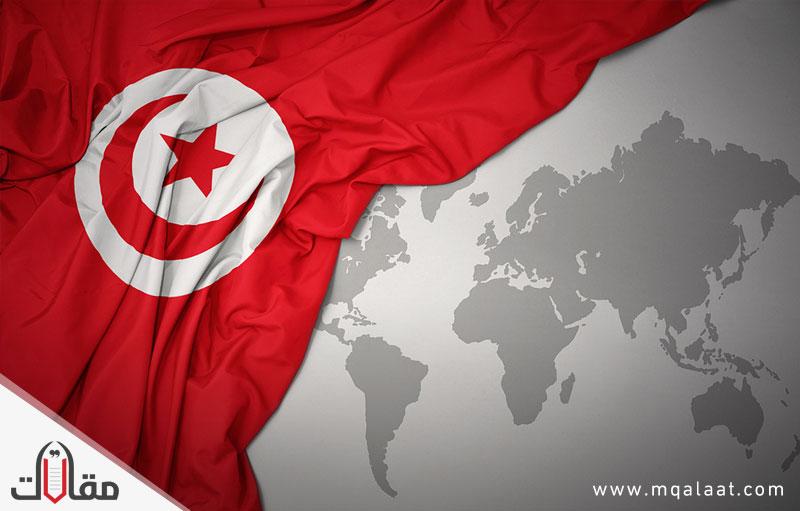 مساحة تونس