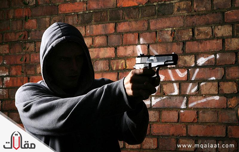 انتشار الجريمة بالمجتمع