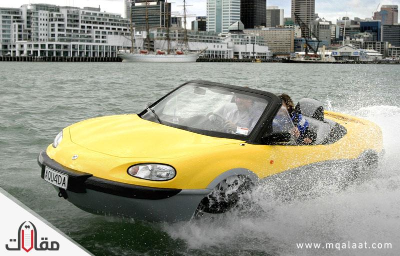 ما هي السيارة البرمائية