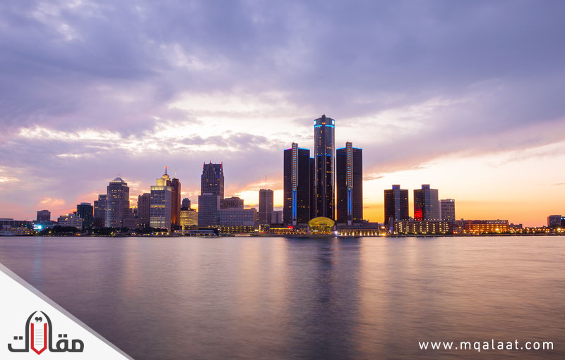 اكبر مدن ولاية ميشيغان