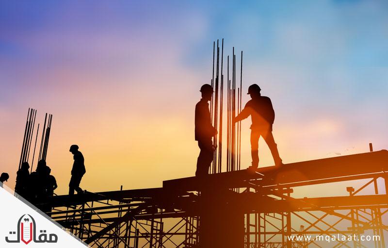 خطوات البناء بالتفصيل