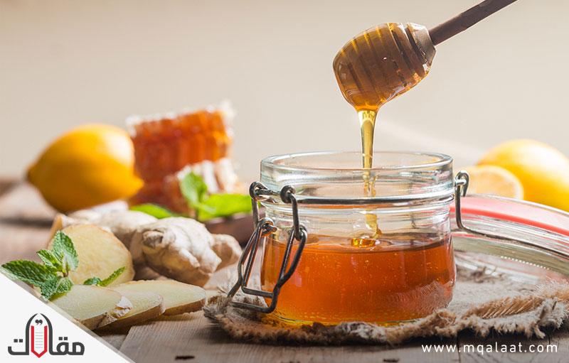 فوائد الزنجبيل مع العسل