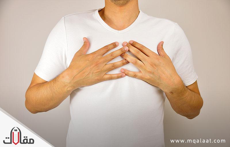 اسباب وعلاج ضيق التنفس بعد الاكل