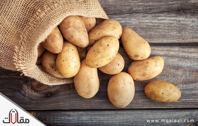 السعرات الحرارية في البطاطس