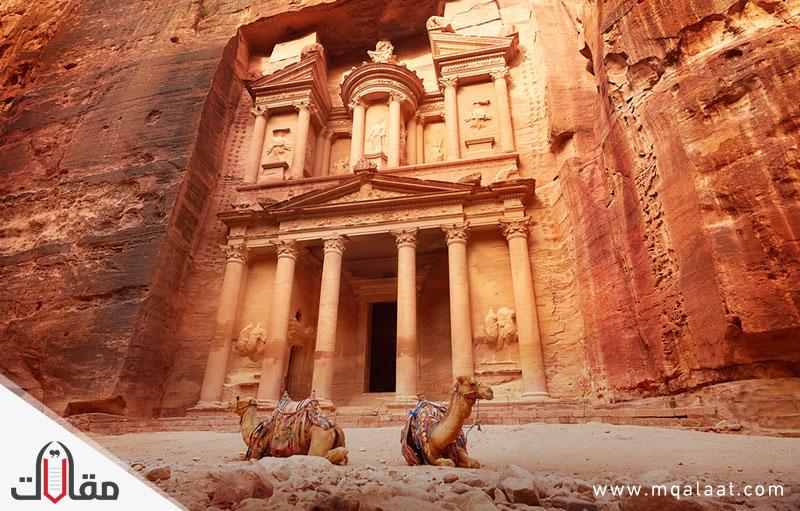 الأماكن السياحية في الأردن