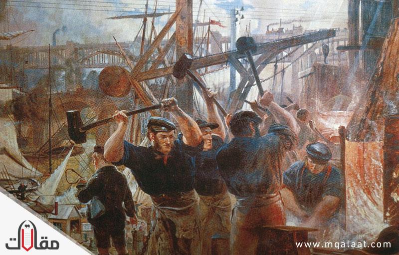 الثورة الصناعية الاولى