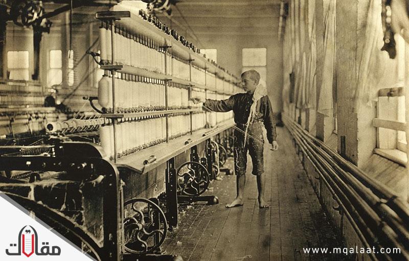 الثورة الصناعية في اوروبا