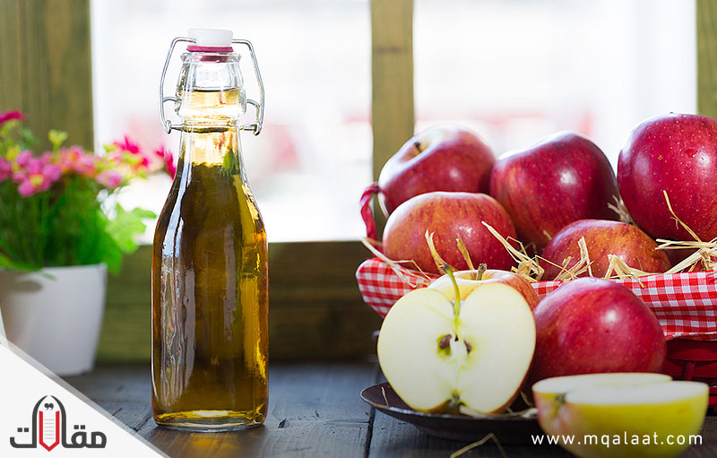 فوائد خل التفاح للتخسيس