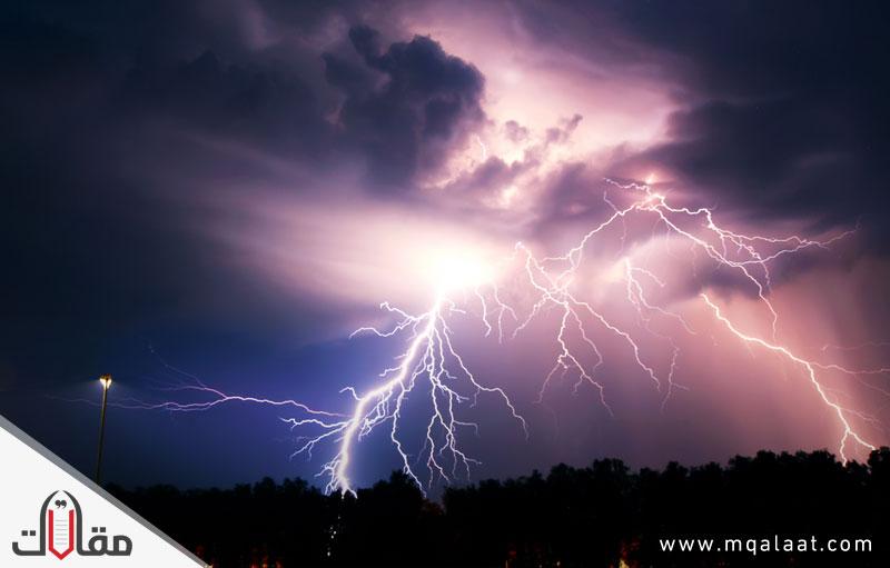 ما هو صوت الرعد