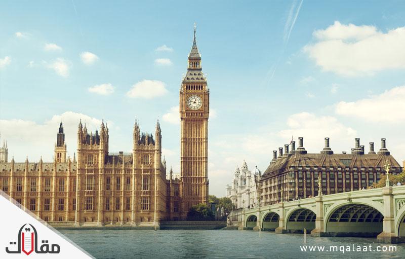 ما هي عاصمة بريطانيا