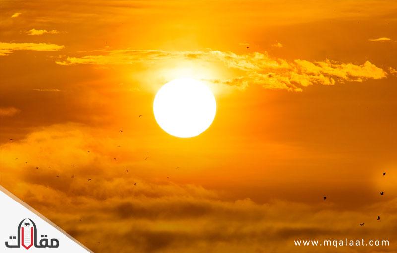 معلومات عن الشمس