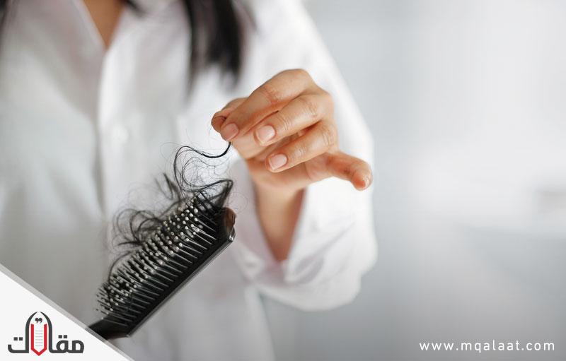 أسباب سقوط الشعر