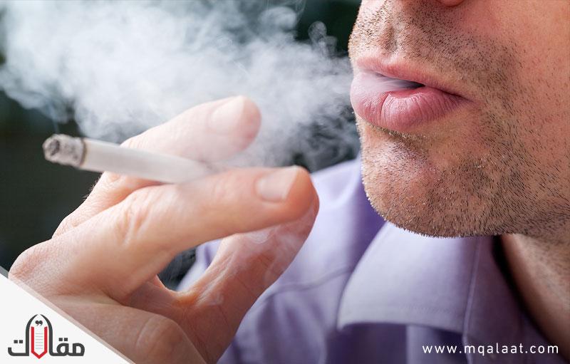 مشكلة التدخين