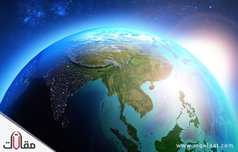 اكبر قارات العالم