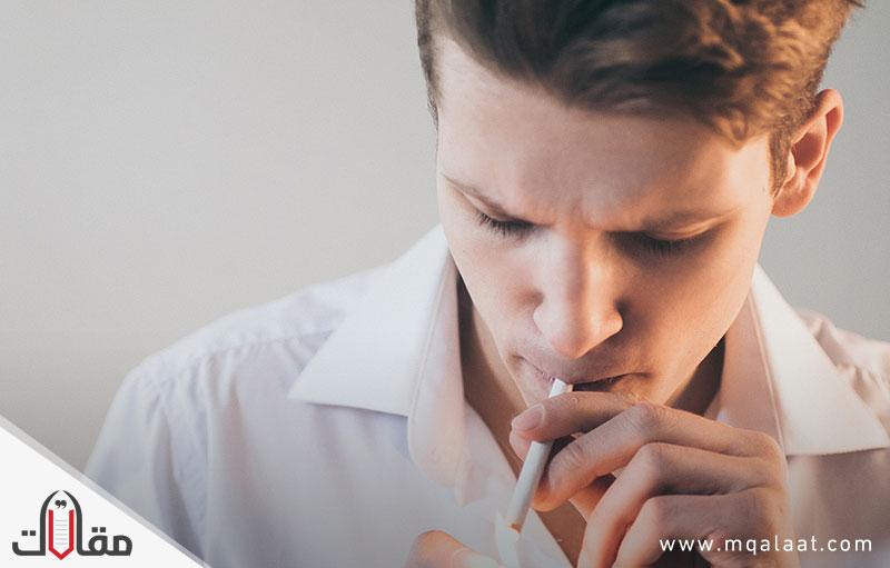 وصف ظاهرة التدخين