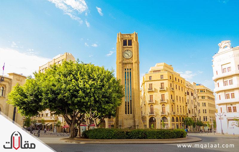 مدن لبنان