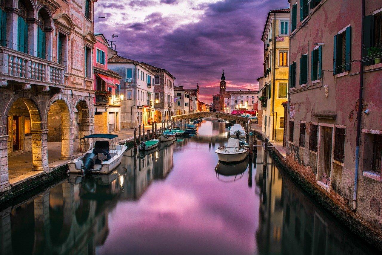 البندقية في ايطاليا