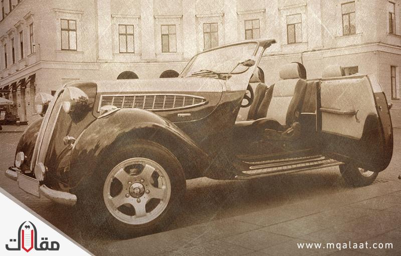 تاريخ صناعة السيارات