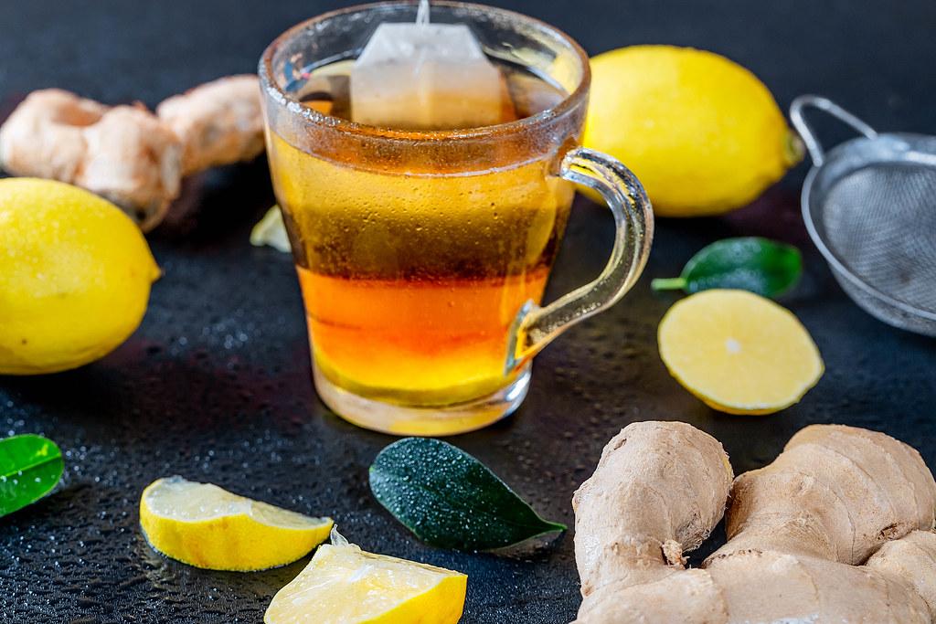 فوائد الزنجبيل المطحون مع الليمون