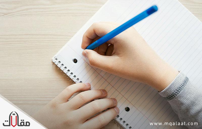 موهبة الكتابة