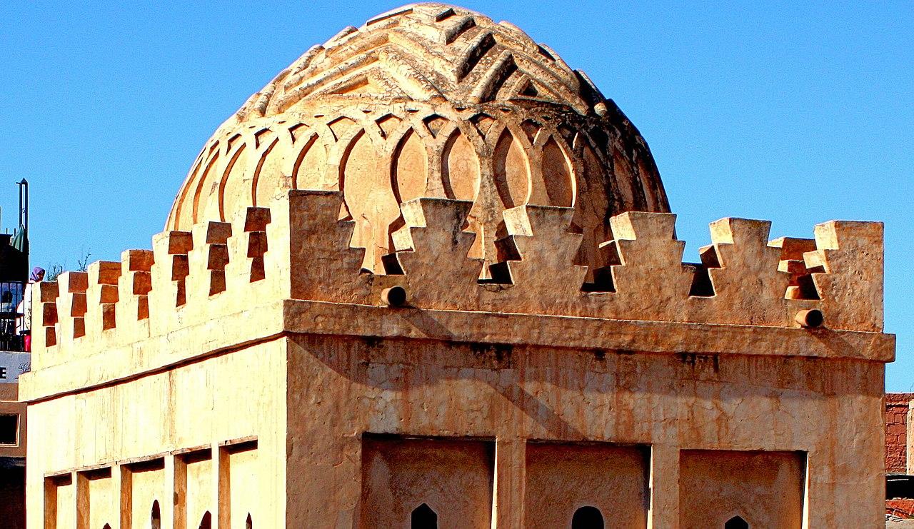 القبة المرابطية بمراكش
