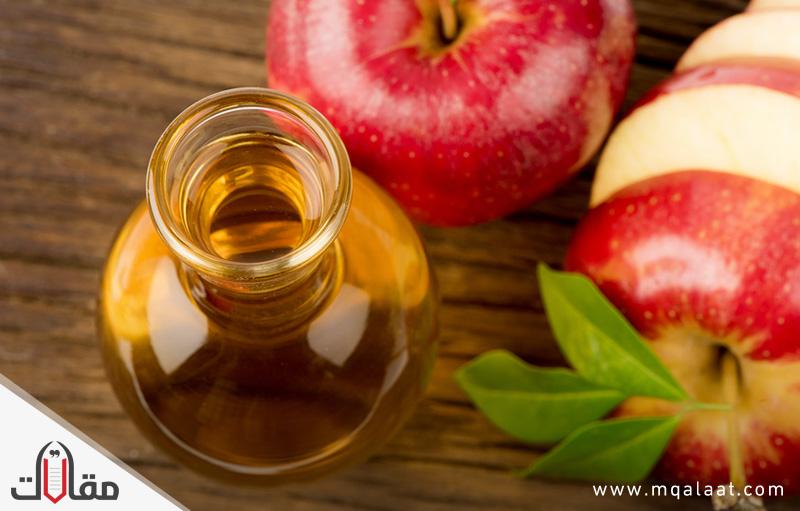 خل التفاح للبشرة