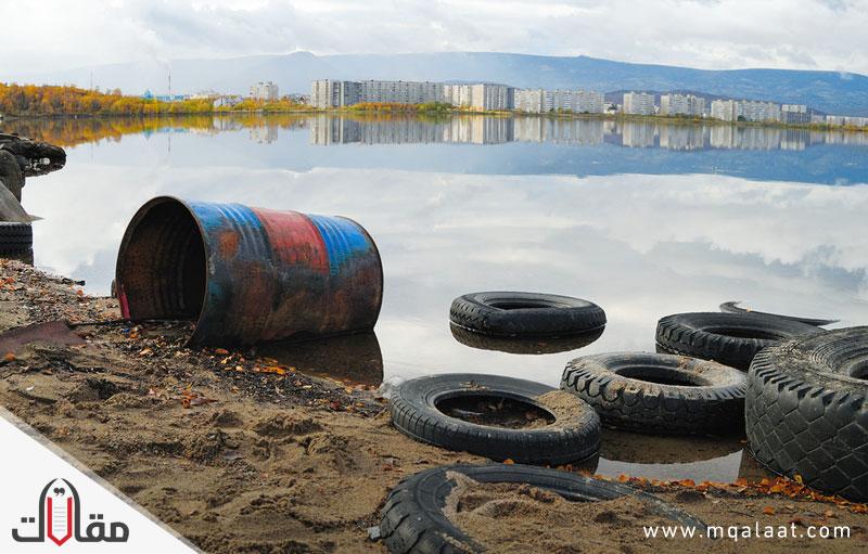 تلوث البيئة بالنفايات