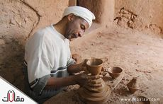 صناعة الفخار في المملكة العربية السعودية
